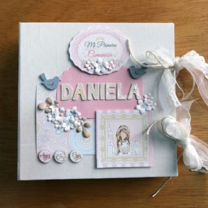 album comunion scrapbooking